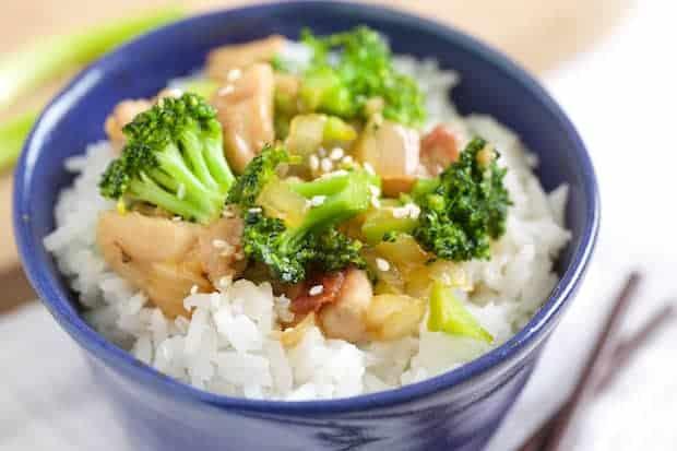 Honey Garlic Chicken Broccoli Stir Fry | Get Inspired Everyday!